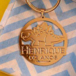 chaveiro personalizado para lembrança de aniversário