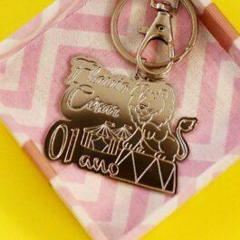 chaveiro personalizado para lembrancinha de aniversário