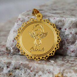 medalhinha para lembrança de maternidade