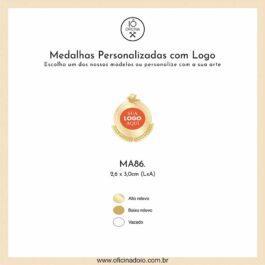 medalha para aromatizadores MA86